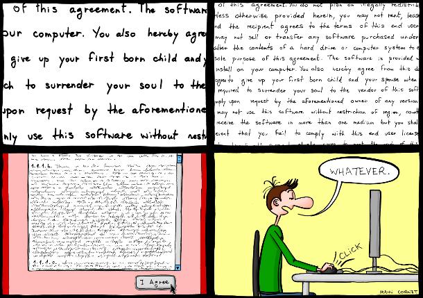 Le Contrat de Licence Utilisateur Final