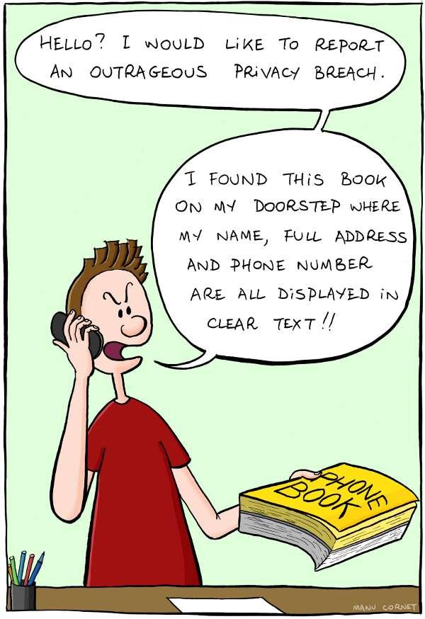 Violation de la vie privée