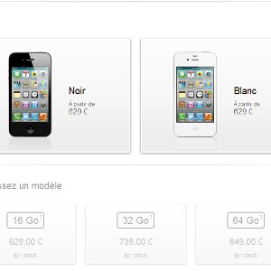 Android VS iPhone prix
