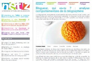NetZ.fr | Blogueur, qui es-tu ? : analyse comportementale de la blogosphère