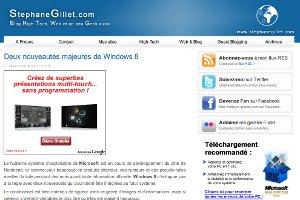 Stephane Gillet | Deux nouveautés majeures de Windows 8