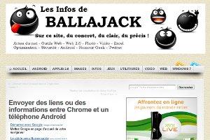 Envoyer des liens ou des informations entre Chrome et un téléphone Android