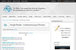 Google Reader : 7 extensions pour Chrome