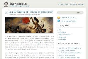 Les 10 droits et principes d'internet