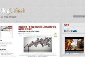 Museum of Me : tranformez votre Facebook en Musée