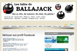 Ballajack | Nettoyer son profil Facebook