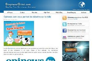 Opinews.com vous permet de débattre sur la toile