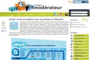 Skype : de sa conception à son acquisition par Microsoft