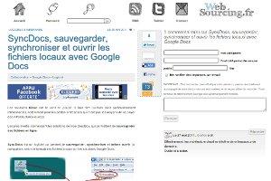 SyncDocs, sauvegarder, synchroniser et ouvrir les fichiers locaux avec Google Do