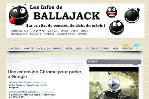 Une extension Chrome pour parler à Google
