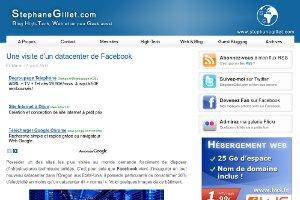 StephaneGillet.com | Une visite d'un datacenter de Facebook