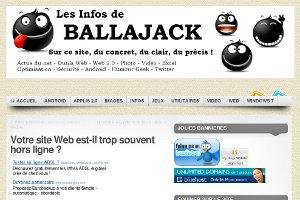 Ballajack | Votre site Web est-il trop souvent hors ligne ?