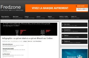 Fredzone - Infographie : ce qui est aimé et ce qui est détesté sur Twitter