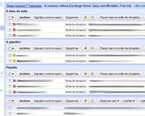 Gmail GTD