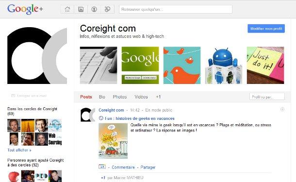 Flux Google+