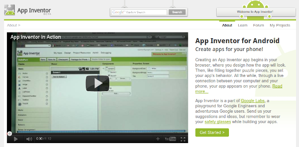 Google Android App Inventor
