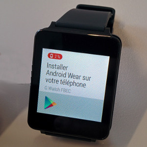 LG G watch installation