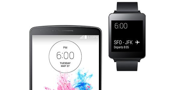 LG G watch smartphone