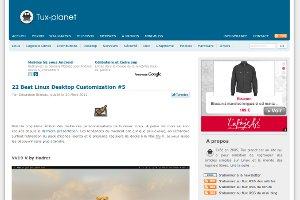Tux-planet : 22 Best Linux Desktop Customization