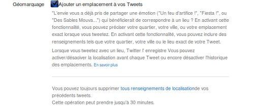 Twitter Localisation