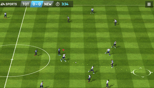 Android application FIFA 14
