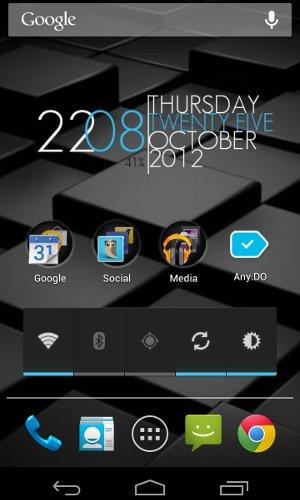Android Prends une capture d'écran en 2 clics