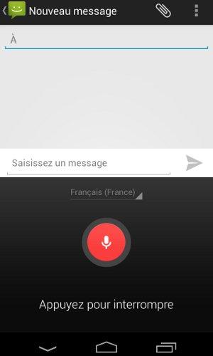 Android Ecris avec ta voix