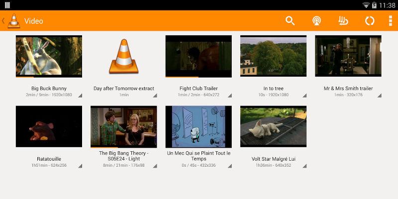 Android problème lecture vidéos
