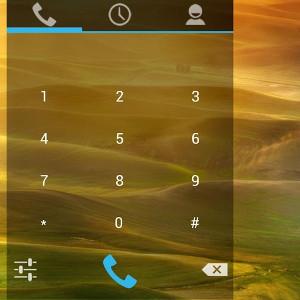 Android verrouillage dialer