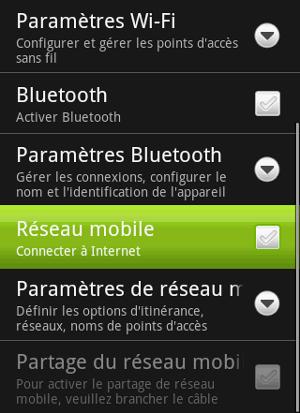Android Réseau