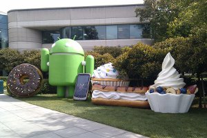 Versions Android Googleplex