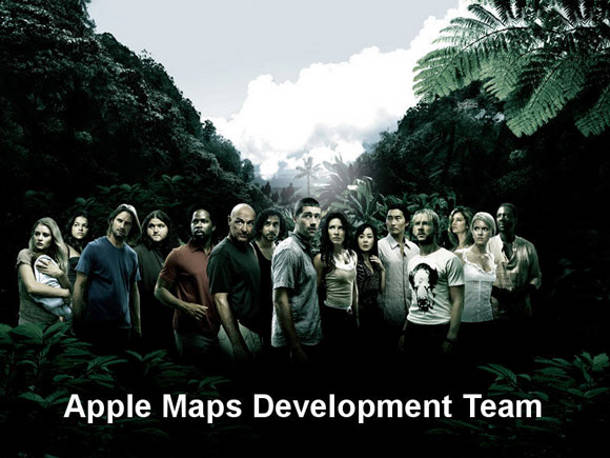 Apple Maps Lost