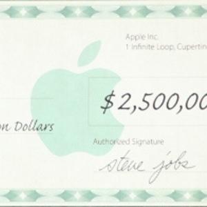 Apple dollars