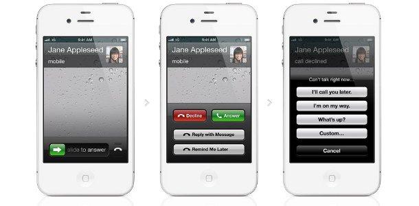 Apple iOS 6 téléphone