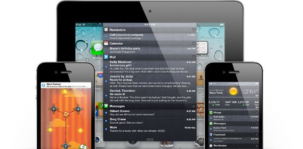 Apple iOS notifications