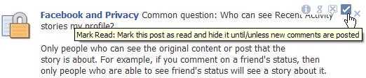 Déja lu Facebook