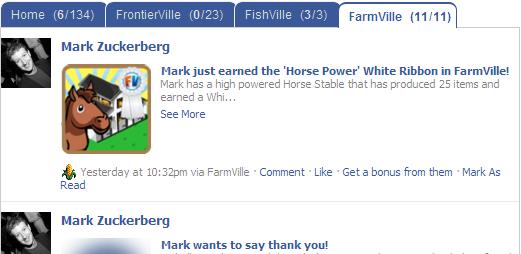 Onglets Facebook