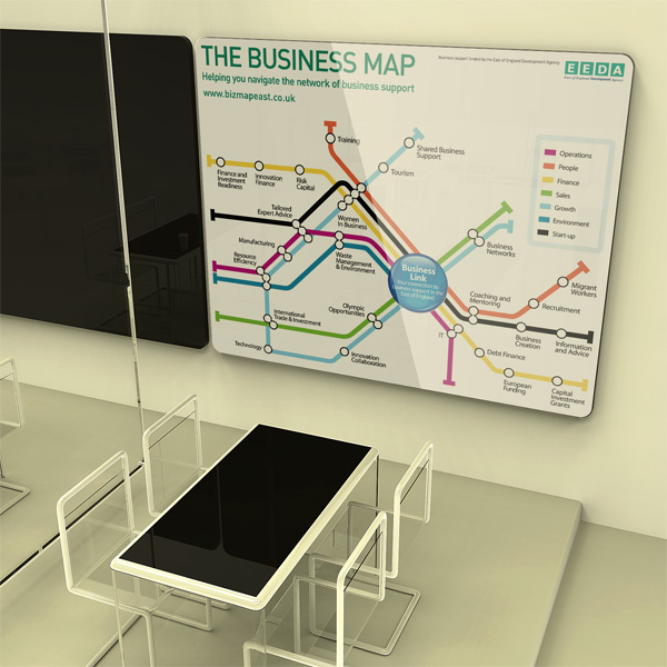 Biz Cafe map