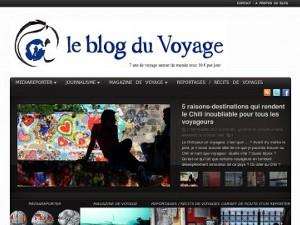 Le blog du voyage