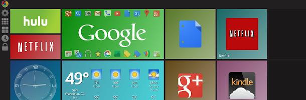 Une page d'accueil personnalisée pour Google Chrome