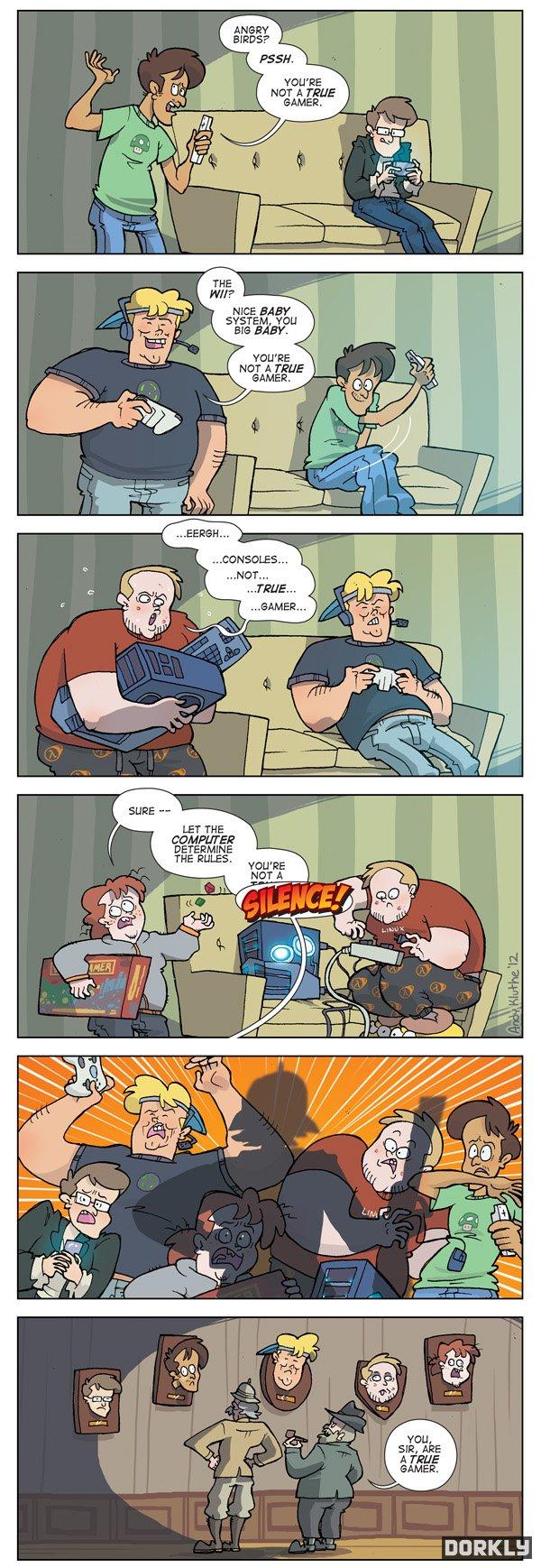 Dangereux gamers