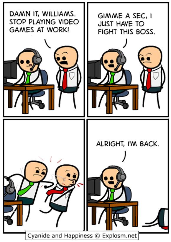 Vaincre le boss