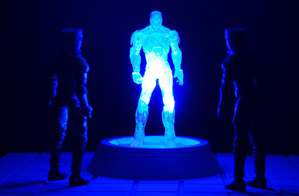 Communication du futur : hologrammes