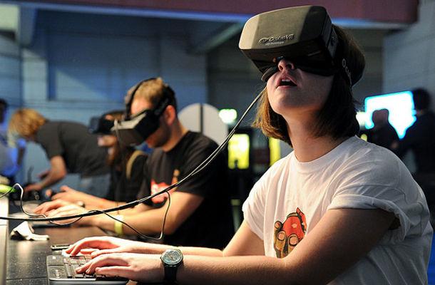 Communication du futur réalité virtuelle