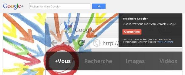 Connexion Google+