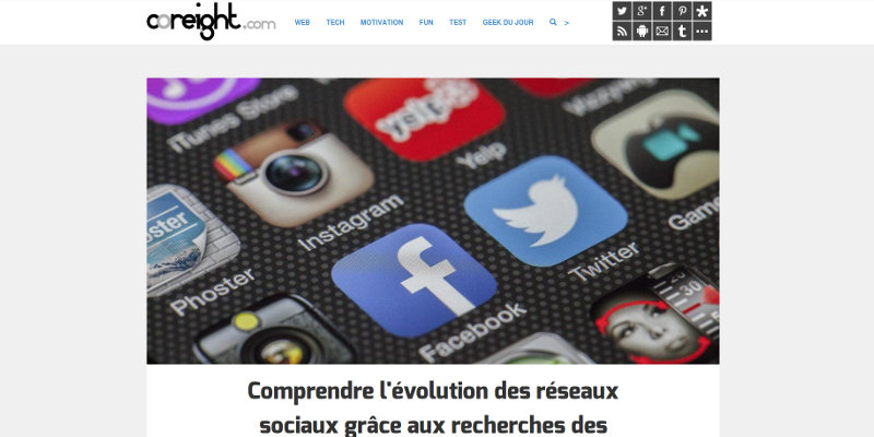coreight.com, le blog de retour