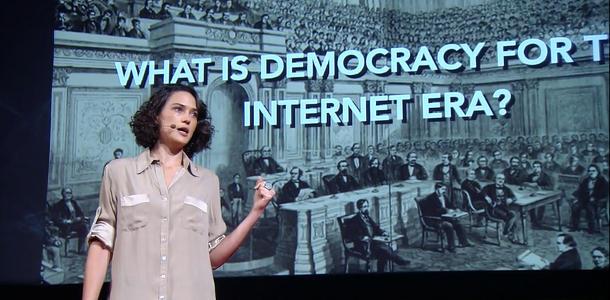 Démocratie à l'ère d'Internet