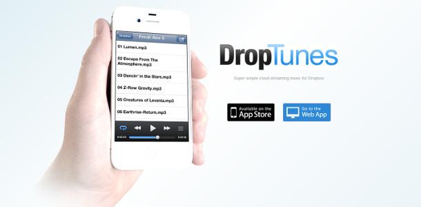 Dropbox musique Droptunes
