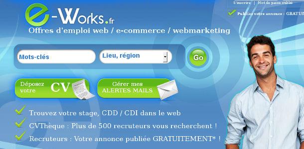 un site pour trouver un emploi dans le web  e