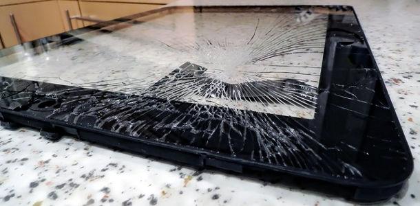 Ecran LCD cassé
